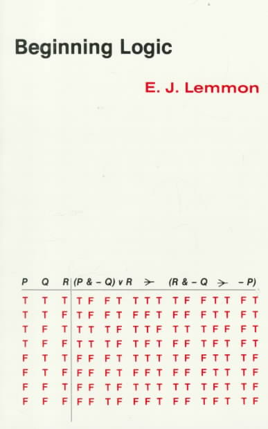Beginning Logic By Lemmon, E. J.